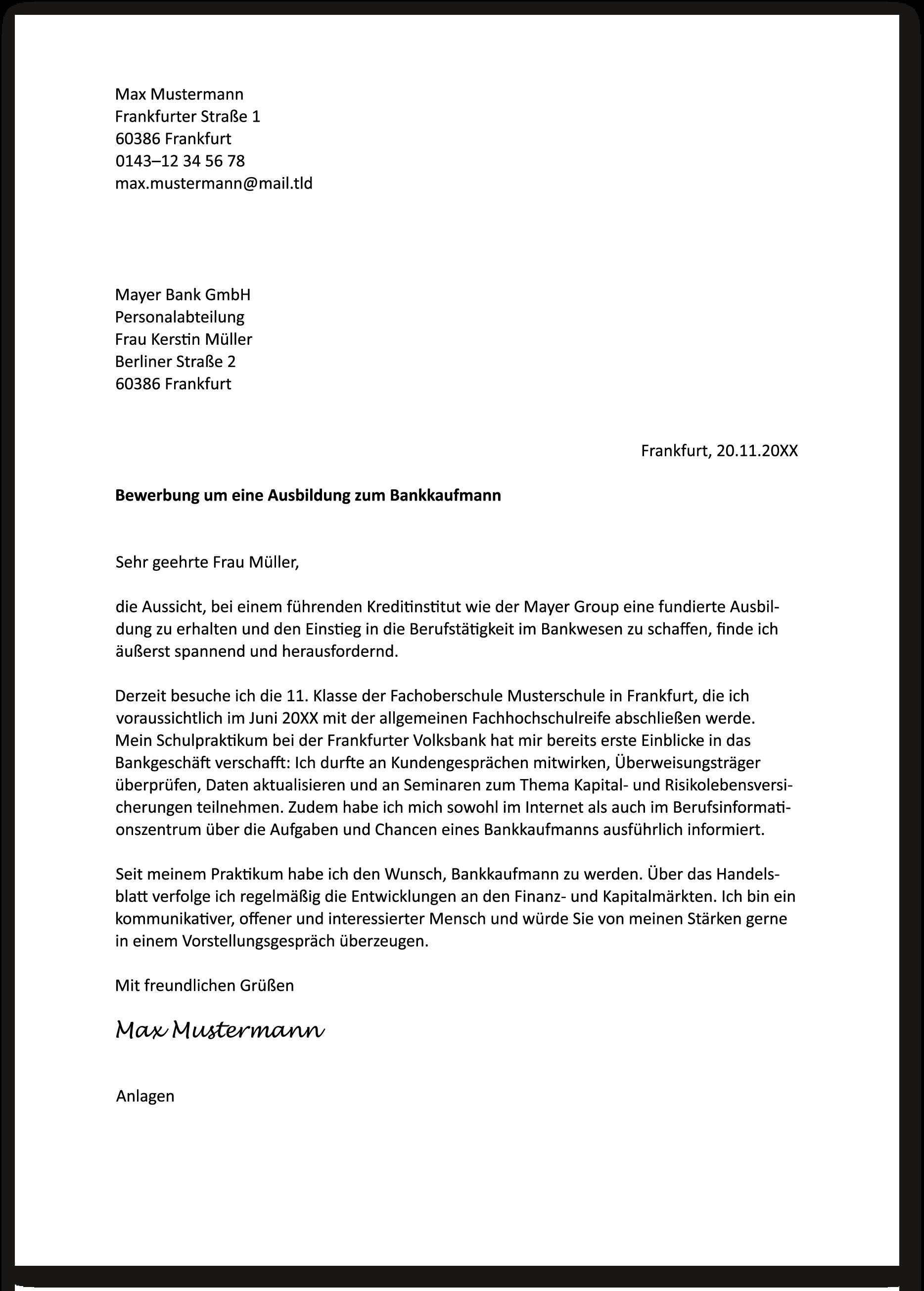 Die Bewerbung Zur Ausbildung: Kaufmann / Kauffrau Im Einzelhandel