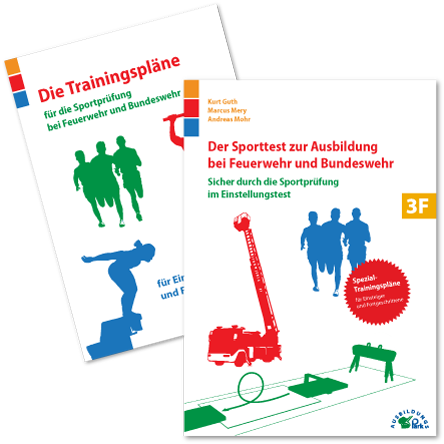 Der Sporttest zur Ausbildung bei Feuerwehr und Bundeswehr